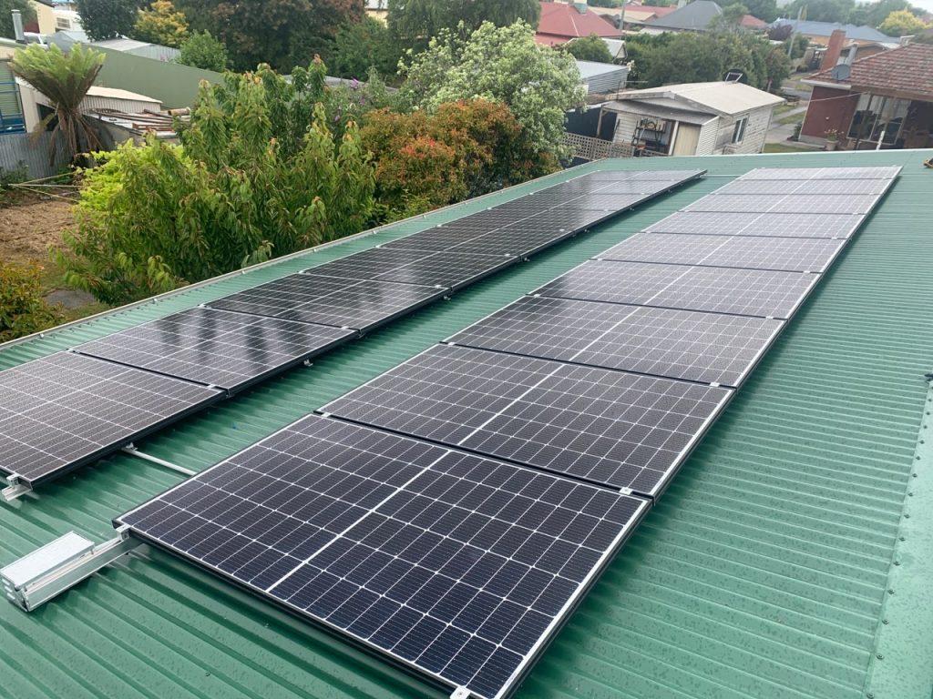 Townsville solar system installation